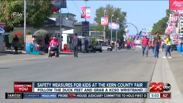 Kern County Fair Safety for Kids
