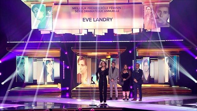 Un premier Gémeaux pour Eve Landry