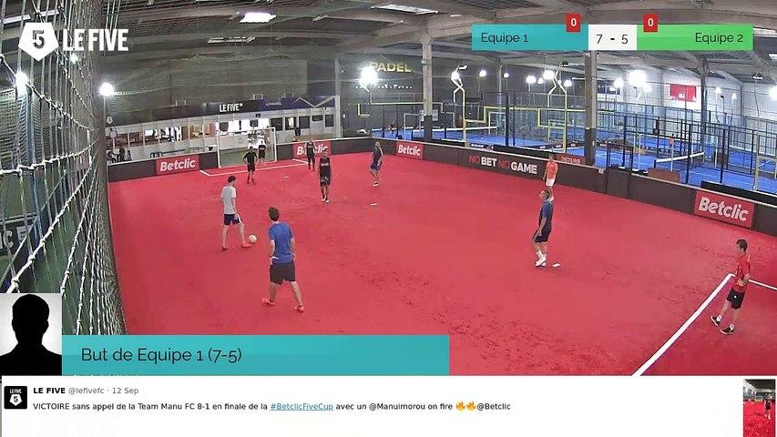 Equipe 1 VS Equipe 2 - 17/09/19 18:30 - Loisir LE FIVE Bordeaux
