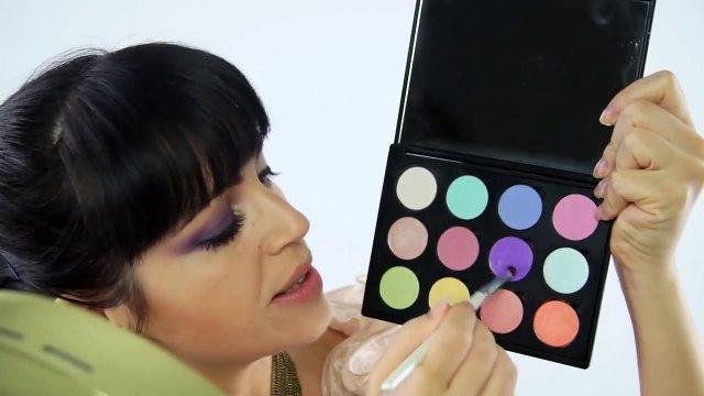 Smokey Eyes - Ahumado Violeta Negro y Dorado