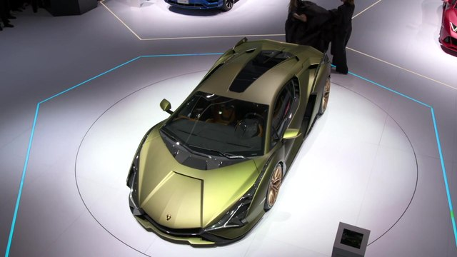 Lamborghini Sián FKP 37 World Premiere at IAA 2019
