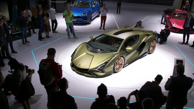 Lamborghini Sián FKP 37 launch at the 2019 Frankfurt Motor Show Highlights