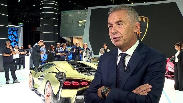 Lamborghini Sián FKP 37 at IAA 2019 - Maurizio Reggiani