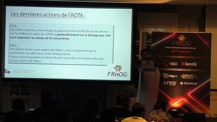 FRnOG 33 - David Marciano : AOTA Update