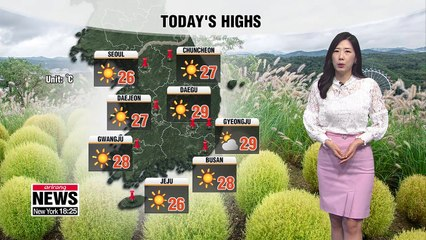 Autumn chill set to move in this afternoon _ 091819