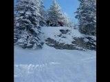 Ski extreme a la dole !!!