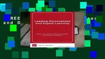 [FREE] Leading Personalized and Digital Learning