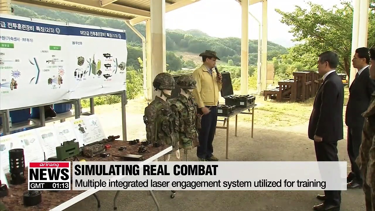 Advanced tech used to boost military training for preparation of real combat situations