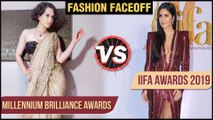 Kangana Ranaut VS Katrina Kaif | IIFA Rocks 2019 VS Millennium Brilliance Awards 2019 Thailand