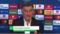 """Galtier : """"le score est sévère"""""""