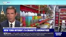 L'État de New York interdit désormais la vente de cigarettes électroniques aromatisées