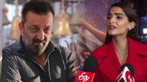 Sanjay Dutt's Prassthanam gets this hilarious reaction from Sonam Kapoor;Watch video | FilmiBeat