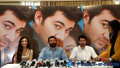 Press Conference Of Sunny Deol For The Film 'Pal Pal Dil Ke Paas' With Karan Deol & Sahher Bambba