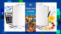 Online Lonely Planet Estonia, Latvia & Lithuania  For Free