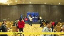 """Présidentielle : l'UE salue le """"modèle"""" démocratique tunisien"""