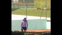 Tennis - Le service à deux mains et quand le Handicap n'en est pas un : c'est signé David Besse !
