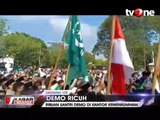 Protes Keputusan Menkumham, Ribuan Santri di NTB Unjuk Rasa