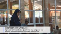 Sign language Quran project in Indonesia: a tool against discrimination