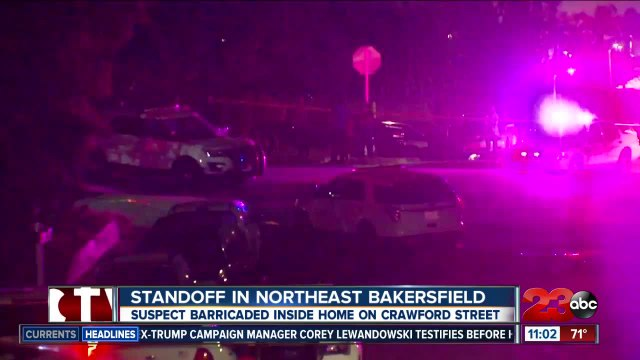 Standoff in northeast Bakersfield