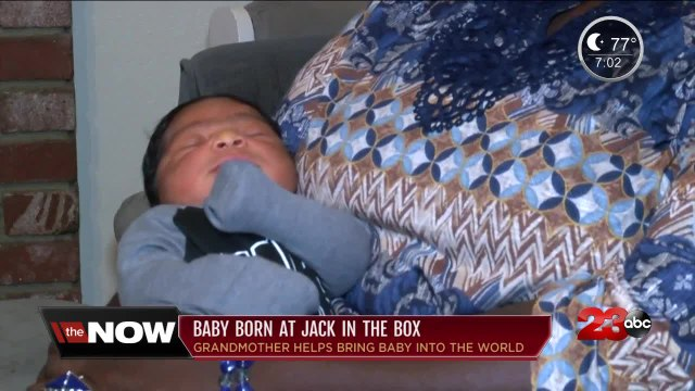 Local mom gives birth to baby at Jack in the Box