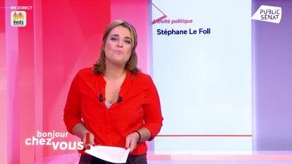 Stéphane Le Foll - Public Sénat mercredi 18 septembre 2019
