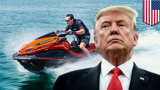 Secret Service wants jet skis to protect President Trump