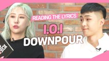 [Pops in Seoul] Reading the Lyrics! I.O.I(아이오아이)'s Downpour(소나기)