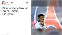 Ligue des champions : PSG - Real Madrid: Neymar présent au Parc des Princes