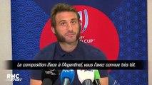 """XV de France : """"On a tous hâte de rentrer dans ce Mondial"""" s'impatiente Médard"""