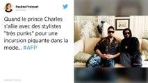 Le prince Charles donne les orties de son jardin pour un défilé de mode