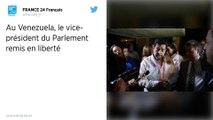 Venezuela : Le vice-président du Parlement Edgar Zambrano a été remis en liberté