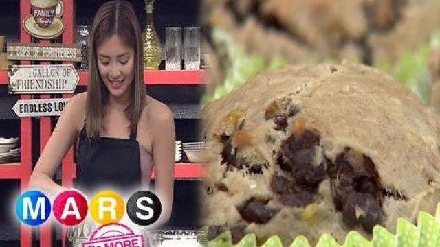 Mars Pa More: Arra San Agustin bakes a chocolate chip banana cupcake | Mars Masarap