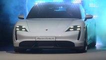 Porsche presents the new Taycan at the IAA in Frankfurt