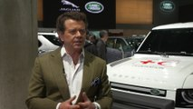 Jaguar Land Rover at 2019 IAA - Prof Dr Gerry McGovern, Chief Design Officer, Land Rover