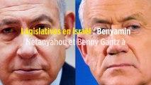 Législatives en Israël : Benyamin Netanyahou et Benny Gantz à égalité