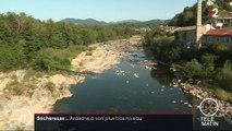 Sécheresse : l'Ardèche à son plus bas niveau