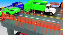 Colors for Children to Learn with Huge Parking and Glass Sliders Hot Wheels Toy Cars for Kids