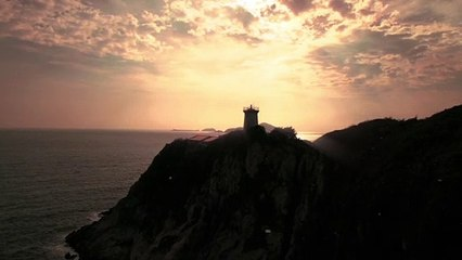 Lighthouse Video During Sunrise