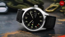 This watch's dial was made from the skin of IAF's first supersonic fighter jet