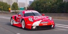 VÍDEO: un Porsche 911 RSR se viste de rojo, ¿por qué?