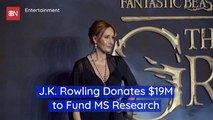 JK Rowling Helps MS Research