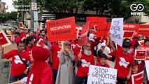 Protest In America Protest Over Gates Foundation Award To Modi