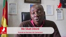 Me Désiré SIKATI : Les avocats ne protestent pas pour eux..mais pour les justiciables !