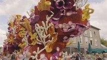 Das ist die größte Blumenparade der Welt