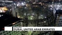 Expo 2020 : Dubaï achève la construction d'un immense dôme en acier