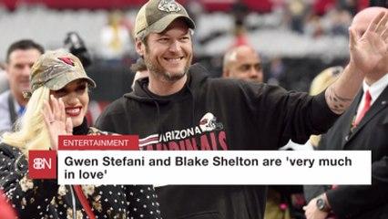 Gwen Stefani And Blake Shelton Are Love Birds