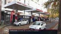 Carburants : les taxes de nouveau en question