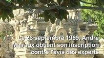 """Le Palais idéal du facteur Cheval, """"sauvé"""" par Malraux en 1969"""