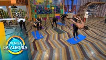 ¡Llénate de energía al lado de nuestros conductores en la yoga grupal! | Venga La Alegría