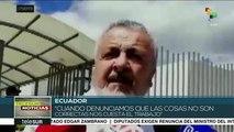 Ecuador: gremio médico denuncia falta de insumos en sistema de salud